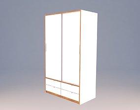 Ikea TRYSIL wardrobe 3D model
