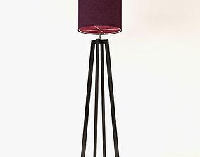 Heathfield Co Tripod Floor Lamp 3D model