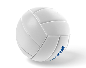 3D model low-poly VOLLEYBALL BALL V1