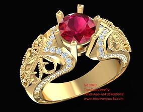 1840 Diamond Ring 3D print model