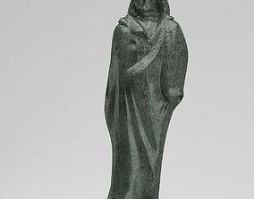 Monument to Honore de Balzac 3D