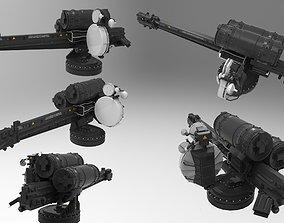 3D model turret 3