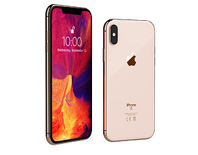 3D model iPhone XS by Apple