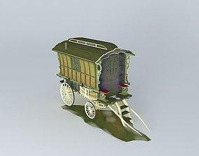 Romany Caravan LEDGE Excec Style 3D model