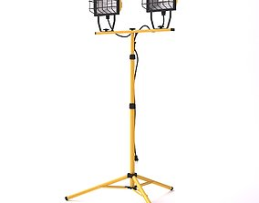 Tripod Construction Worklight 3D model