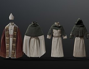 3D MEDIEVAL Religious character