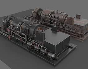 3D model Machinery device industrial