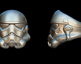 Storm trooper ring 3D print model