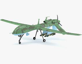 3D model General Atomics MQ-1C Gray Eagle