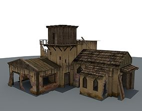 Ruined House 2 3D model