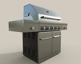 3D model Propane Grill