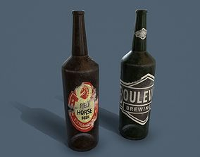 Bottles Common Enviroment Assets VR / AR ready