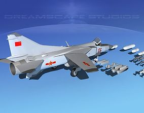 Mig-23 Fighter China 3D