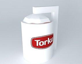 3D model Konya Sugar Torque Silo