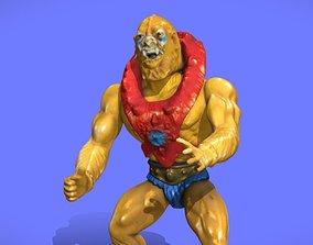 80s MOTU BEAST-MAN FIGURE - 3D SCAN
