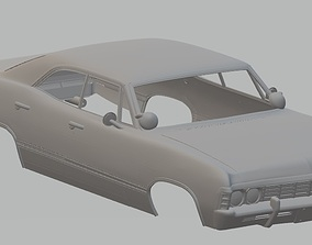 Impala 1967 Printable Body Car