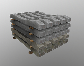 3D model Stacked Sleepers SH-1