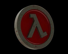 Half-Life Logo 3D print model fiction