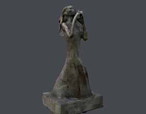 Praying Statue 3D asset