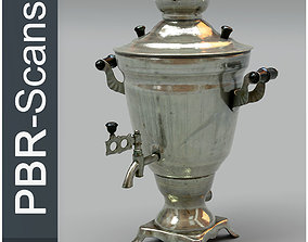 3D Samovar Middle Poly