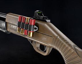 realtime PMS M12 Shotgun - Models and Textures