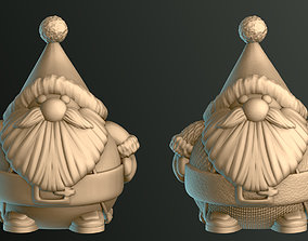 Cute Santa Claus 3D print model