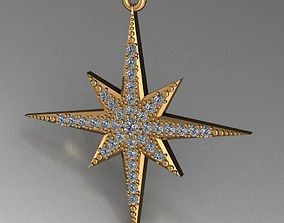 Pendant Star diamond model
