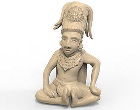 Mayan Figure 4 3D print model