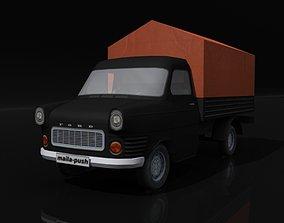3D model Transit Black