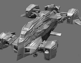 3D print model Spaceship