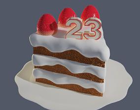 3D gateau Birthday cake