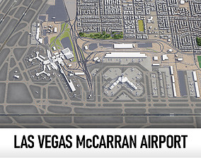 3D model Las Vegas McCarran International Airport
