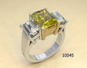 Jewelry ring for women beautifule 3d model lego