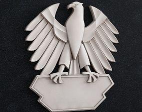 Eagle emblem 3D printable model
