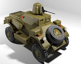 3D Armoured Car - Daimler Dingo