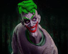 Joker bust 3D printable model