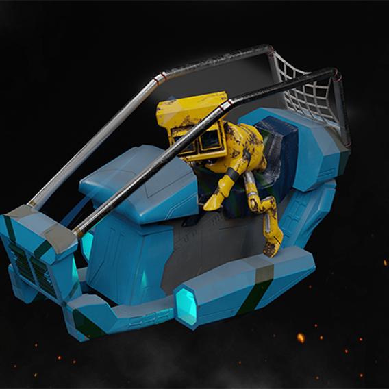 Robowork Game's Character