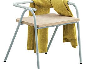 Grand Rapids Half Hurdle Chair 3D