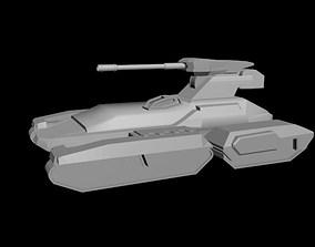 Halo scorpion tank 3D printable model