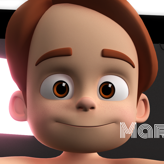 Marvin Cartoon Boy