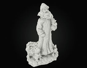 PBR Santa Claus printable - A-version