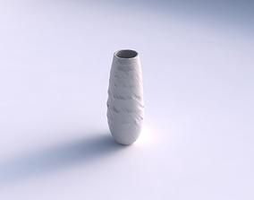 3D printable model Vase bullet with rocky fibers