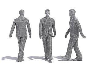 3D model Man Walking