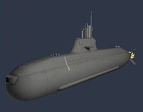 3D model HNoMS U32