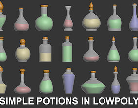 Potion 3D - Lowpoy low-poly