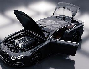Generic Sports GT 2 Door Coupe 3D asset