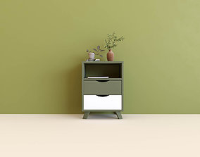 Side Table and TV Cabinet 3D