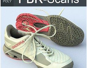 3D PBR Sneaker High Poly