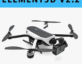 E3D - GoPro Karma Drone GoPro Hero 5