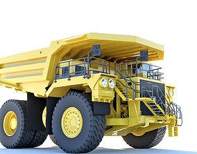 Mining Dump Truck 3D model mining